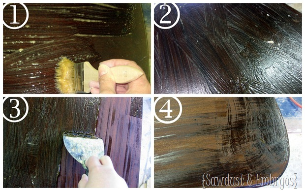 Stripping Furniture {Sawdust & Embryos}