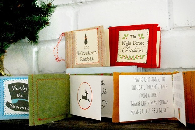 Mini Christmas Book Ornaments_thumb