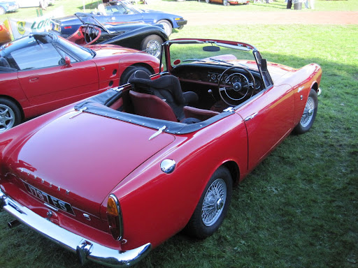 Sunbeam Alpine Rear-BXCR-