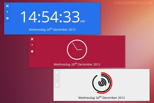 Clock su Ubuntu