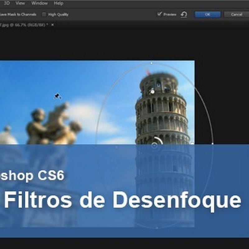 Nuevos filtros de desenfoque en Photoshop CS6