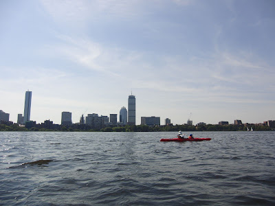 Charles Riverから望むBoston市街地