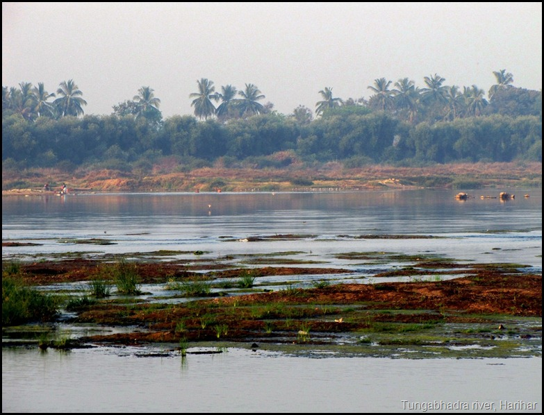 Tungabhadra river, Harihar