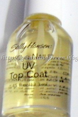 Sally Hansen Hard As Nails - Texture