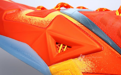 nike lebron 11 gr atomic orange 2 10 forging iron A Sizzling Look at Nike LeBron XI Forging Iron
