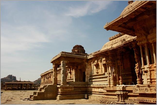 Temple inside Vittala Complex