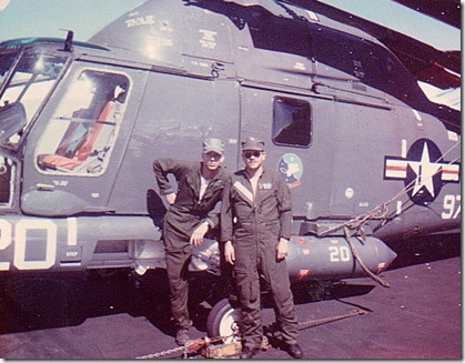 Sam & Barry Waluda USS IndependenceCVA921965b