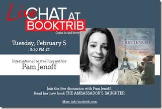 BookTrib Live Chat PAM JENOFF