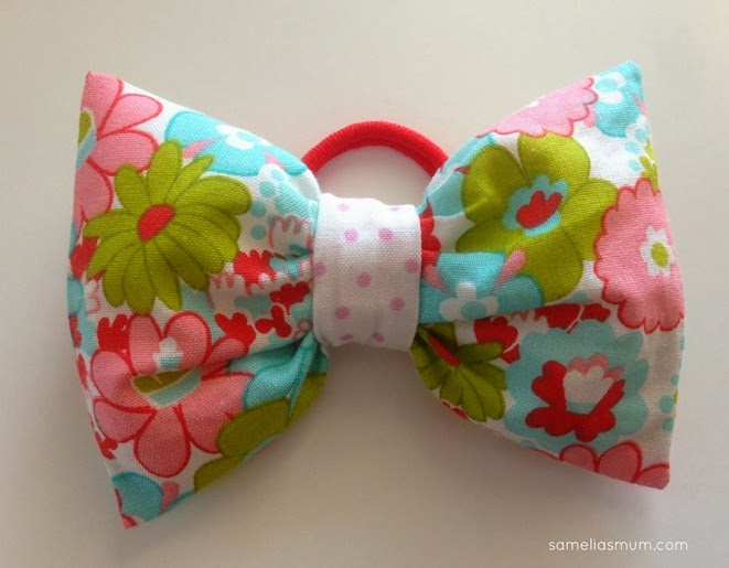 Puffy Ponytail Bow