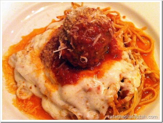 Iggy's Spaghetti & Meatball