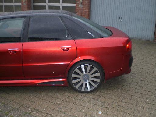 Umbau meines Audi 80 Cabrio in