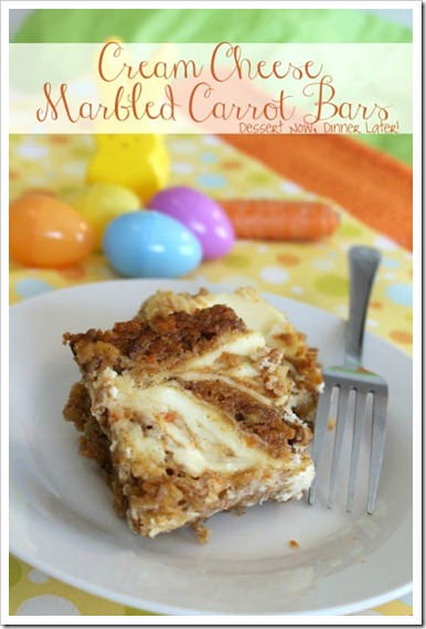 Marbled Carrot Bars1
