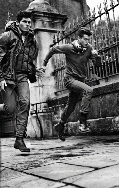 Sam Way + William Eustace by Txema Yeste for Pull & Bear F/W 2011