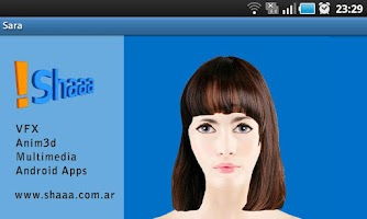 Screenshot of Sara