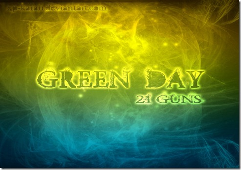 Green Day 21Guns