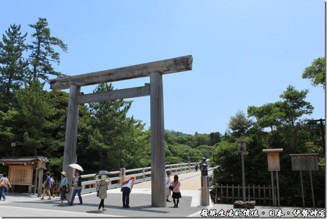 日本伊勢神宮,前往伊勢神宮前的鳥居