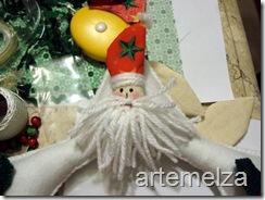 Шить - лицо Санта-Клаус-45