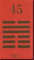 I Ching 45 Tsui Reuniao