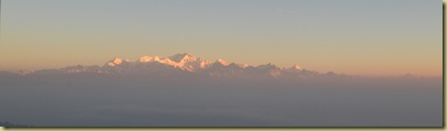 Kangchenjunga post dawn