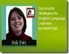 Successful Strategies for English Language Learners by Heidi Raki of Raki's Rad Resources