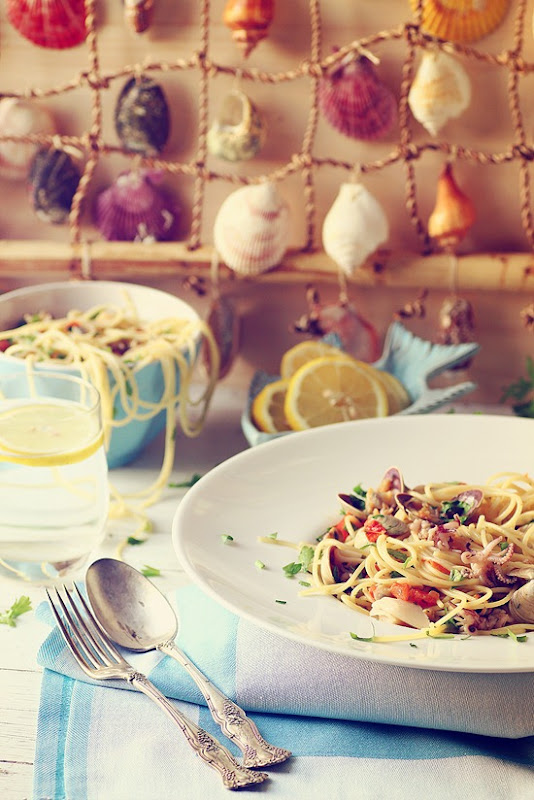 Spaghetti allo scoglio 4