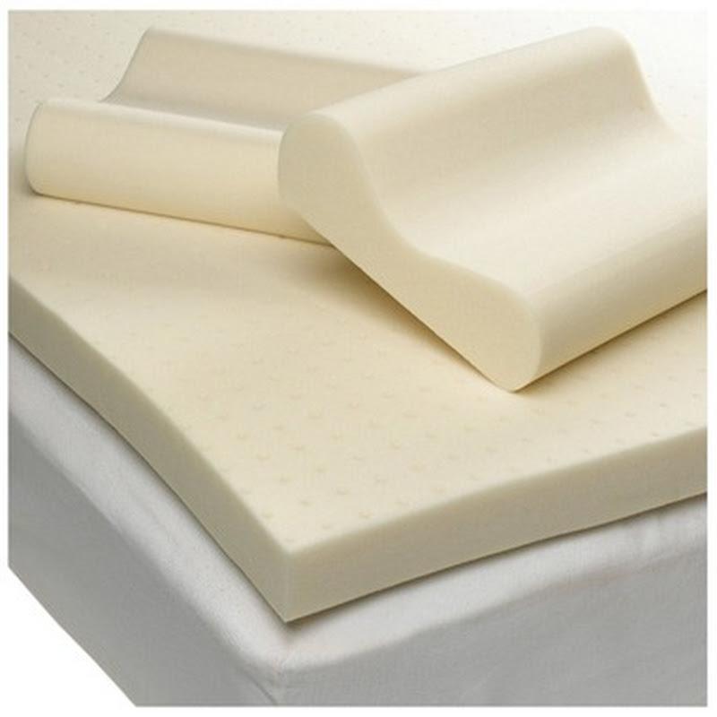 Isotonic Structure 6 Zone Memory Foam Mattress Topper