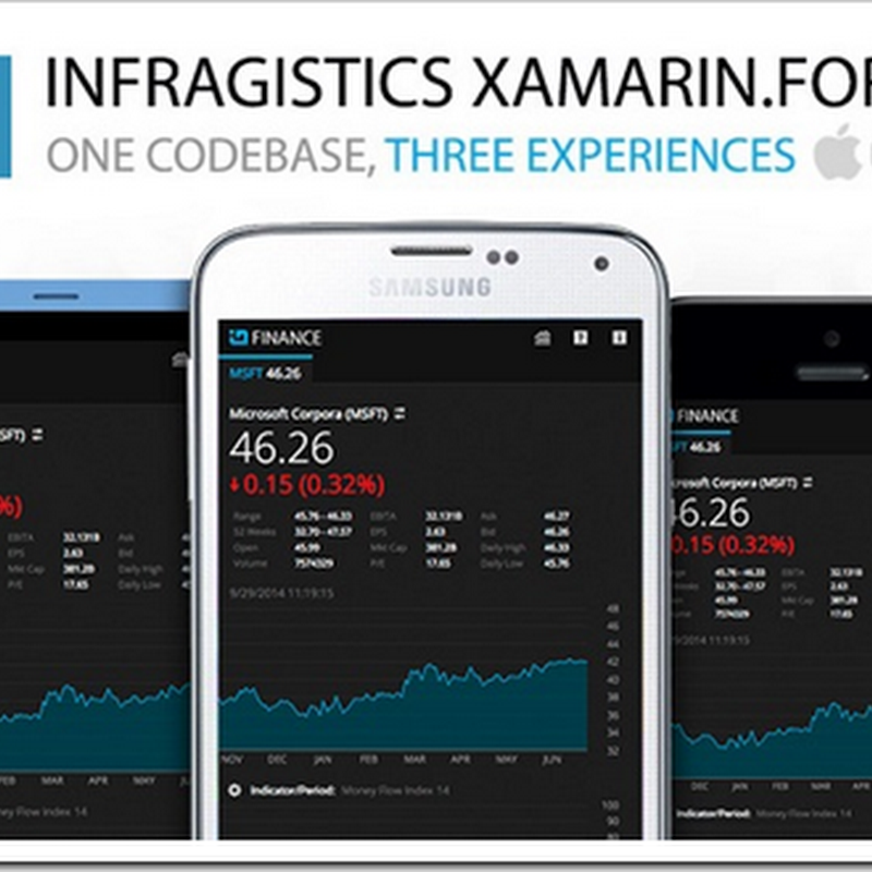 The Xamarin.Forms excitement continues to build, getting broad third party support and more...