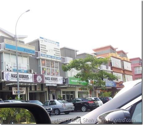 Nasi Kukus Shah Alam 1