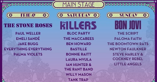 Isle of Wight Festival Lineup 2013
