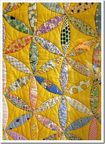 Flower Quilt closeup