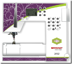 Bernina AMQF commemorative 215 skin 2012
