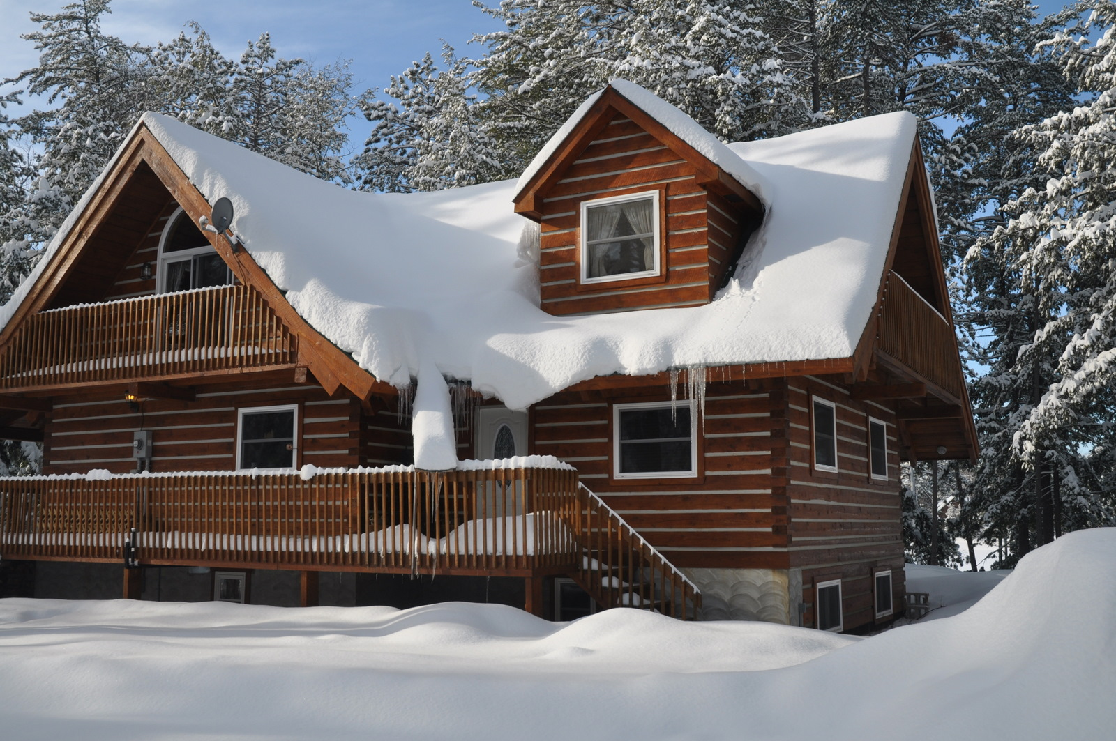 Amazing photo of Affordable Log Home Kits For Residences Cottages and Cabins from  with #65412F color and 1600x1063 pixels
