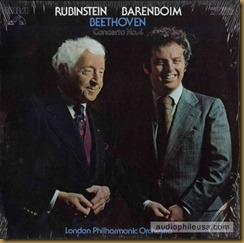 Beethoven concierto 4 Rubinstein Barenboim