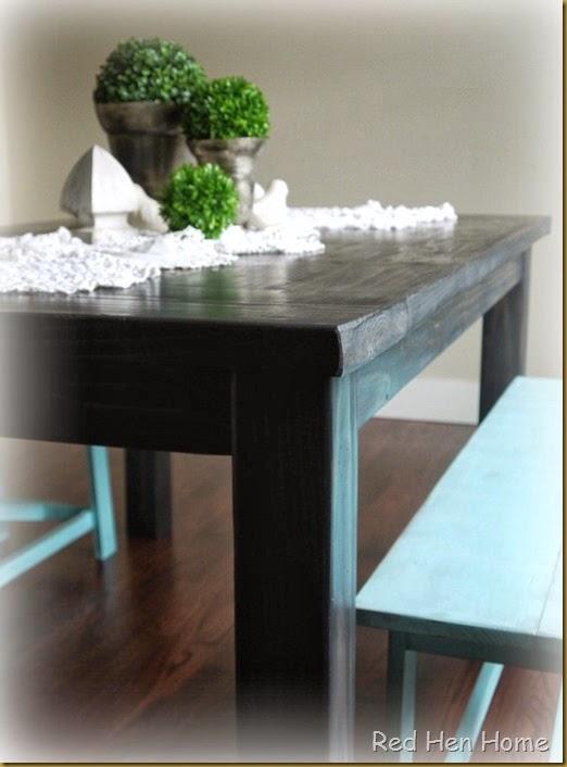 Kim's Farmhouse Table 012