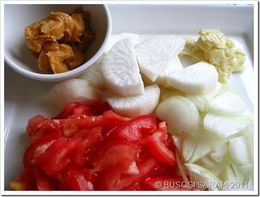 SINIGANG SA MISO PREPPED INGREDIENTS© BUSOG! SARAP! 2011