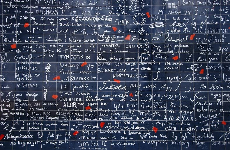 The Wall of I Love You - Montmartre Paris