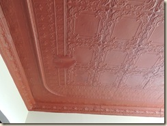 204.Tin ceiling