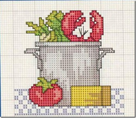Ponto Cruz-Cross Stitch-Punto Cruz-Punto Croce-Point de Croix-402