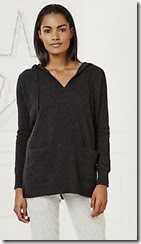 Cashmere Hoodie Tunic
