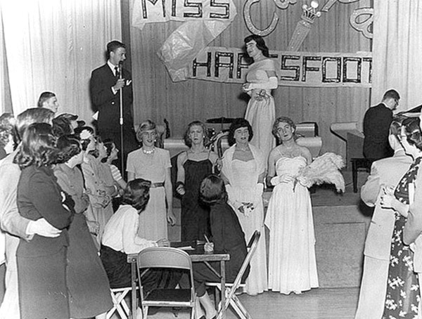 womanless beauty pageant - univ of wisc-madison - 1951