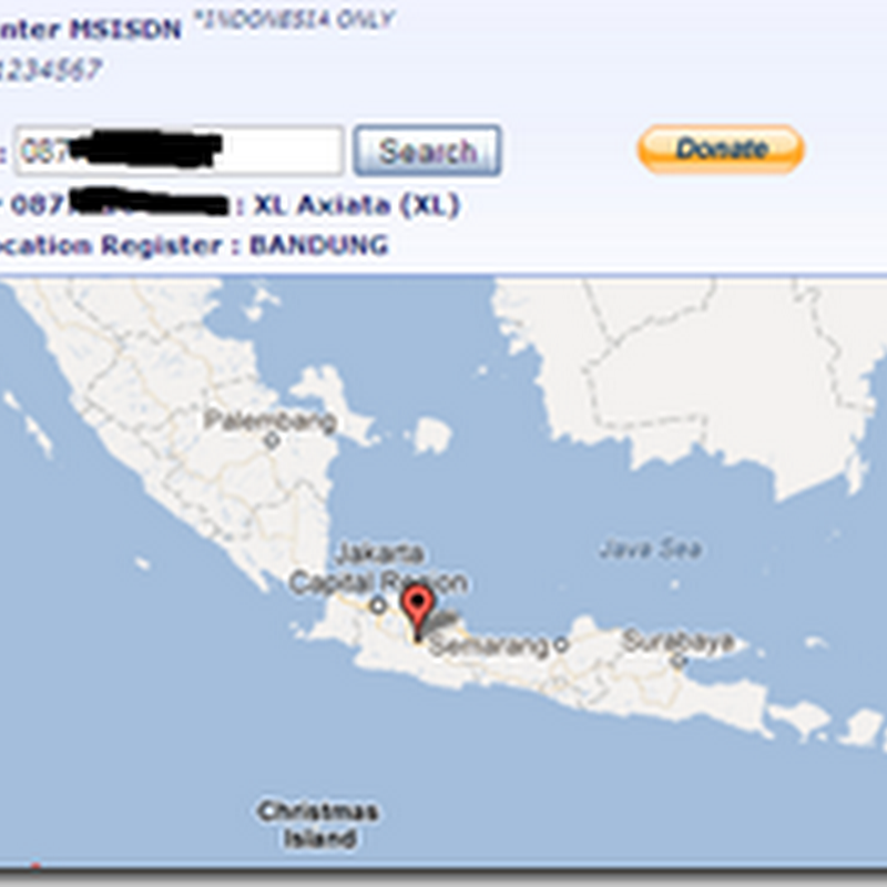 Cara mengetahui lokasi nomor handphone GSM/CDMA