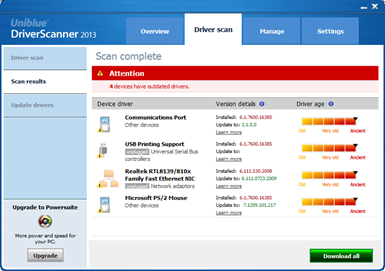 Driver Scanner 2013 Download