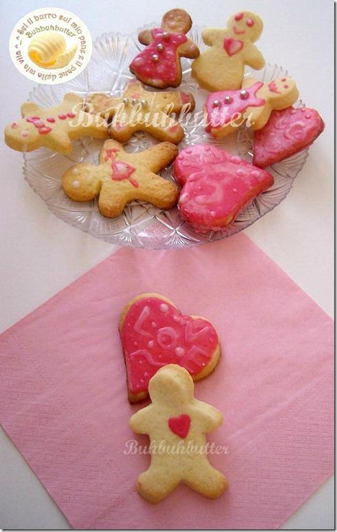 Famiglia biscottini cuori S.Valentino