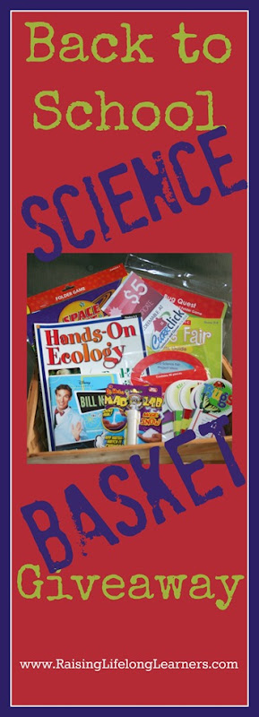 Back to School Science Basket Giveaway via www.RaisingLifelongLearners.com