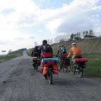 Въезд в Аркаулово, перед ним были поставлены рекорды скорости на маршруте