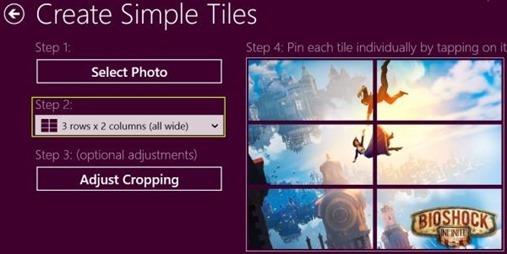 dicas como adicionar Windows 8  tiles