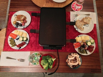 Raclette Set Table