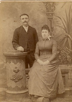 Frank Henry Yartz (1844-1913) and Eva Ruppert (1854-1915)