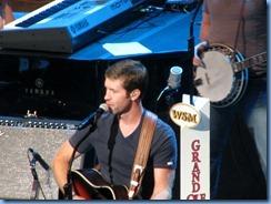 9869_1 Nashville, Tennessee - Grand Ole Opry radio show - Josh Turner