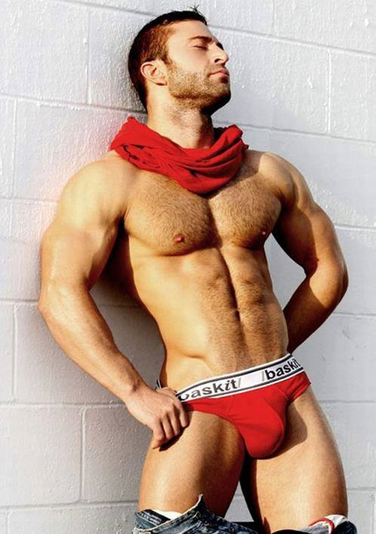 sexy guy for baskit briefs